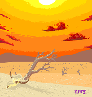 Drought on the Draw Something app by zachjacobs