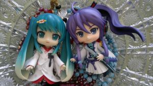 Miku And Gakupo Nendoroid by ng9