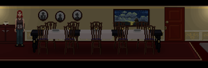 He Watches - Dining room by WHAMtheMAN