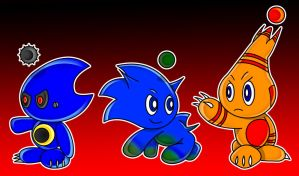 Chao 3 - Metal+Sonic+Power by TheStiv