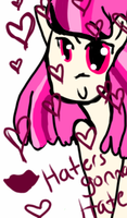 HATERS GONNA BE HATIN by El3ctro-Mess