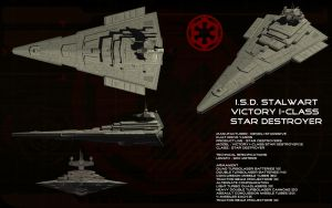 Victory-I Star Destroyer ortho - ISD Stalwart by unusualsuspex