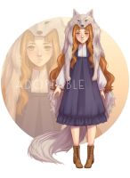 [CLOSED] Adopt - Wolf girl by Dittydits