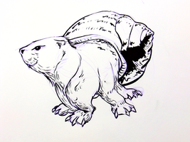 Inktober2016 day 7 by Clean3d