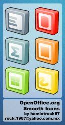 OpenOffice.org Smooth Icons by hamletrock87