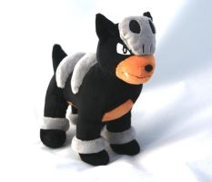 Houndour Plush 2.0 by Draxorr