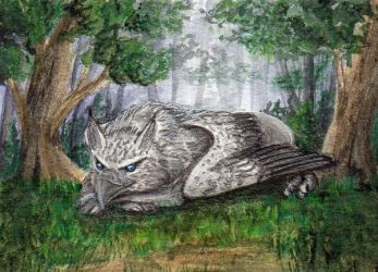104 - ACEO / KAKAO - A Little Rest by malloth86