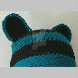 Fitted Beanie Ears by Soleil-Radieux