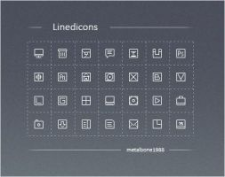 Linedicons by Metalbone1988