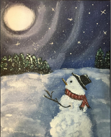 Winter Snowman by HugzieTV