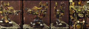Ork Warboss by antharon