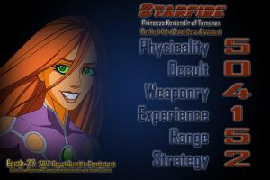 [Earth-27 Royal Rumble 2017 Stats] Starfire by Roysovitch