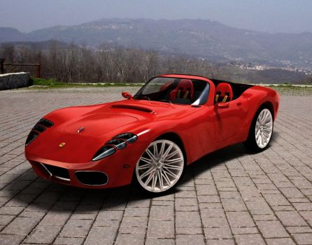 ferrari baby spider cabrio by TheUncle