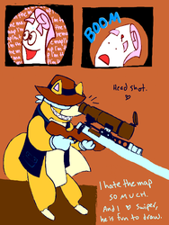 SNIPER NO ... too late by CheiftainMaelgwyn