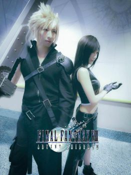 Cloud and Tifa by funnaejc