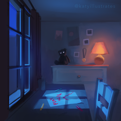 Day 79 - Play With Me by katyillustrates