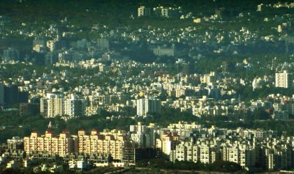 Pune From Sinhgad by amit3dhumal