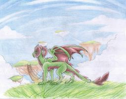 old color pencil by aacrell