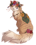Flower Kitty by Spiritaelia
