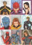 X Men Archives Sketch Cards 4 by wheels9696