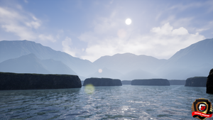 Unreal Engine 4 Cliffs by DaminDesign