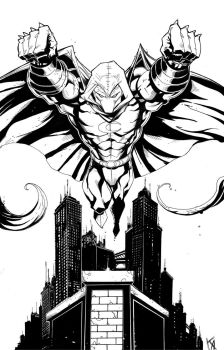 Moon Knight Commission by KomicKarl