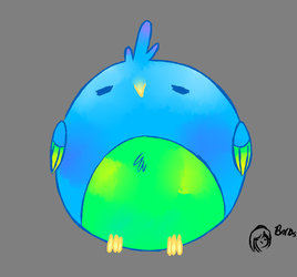 Thicc Borb by TheAlpacaMaster