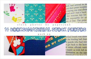 Stock Pack 09: Books by PaperJunk