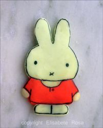 Miffy made with Fimo by Miffy-fans