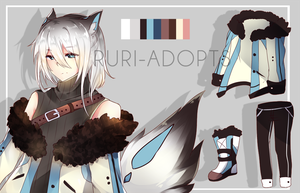 [CLOSED]  Adopt- Pup 08 by Ruri-Adopts