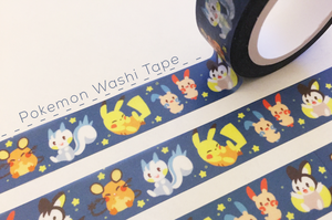 Washi Tape: Pokemon Electric Rodents