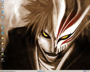 Hollow Ichigo Wallpaper by XinAsuka