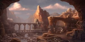 Canyon City by ZackF