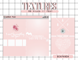 Textures 040 // (Pretty U) by BEAPANDA