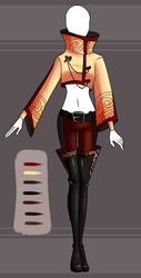 Adoptable outfit #1 - [Auction - CLOSED] by Eggperon