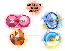 {A} Paypal Mystery Mixed Gems OPEN [3/4] by vienna-adopts