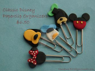 Disney Bookmarks by Wintaria