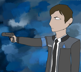 Connor Fanart by Shotgungamer8