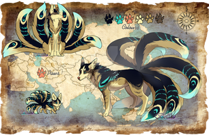 Kitsune Adoptable 1 (Auction) CLOSED by Belliko-art