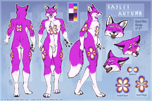 BayleiAutumn Reference Sheet by Mickeyila