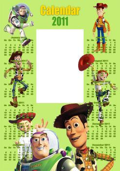 Toy Story 2011 Calendar by Anavrin2010