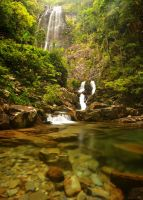 Langkawi Waterfall by comsic