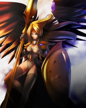 Angel of victory by nancher