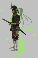 Undead Samurai Animation by Sylphiren