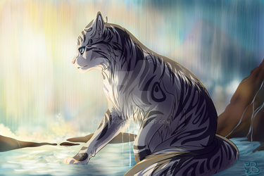 The Silver Cat's Prophecy by EjayNoir