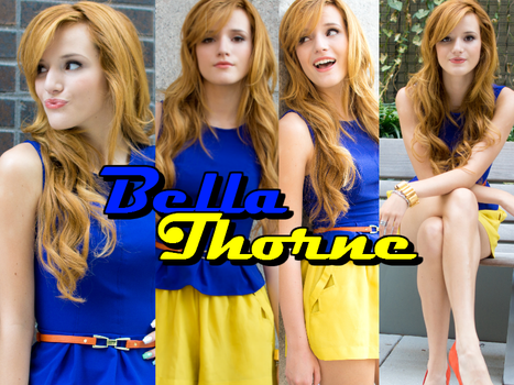 Bella Thorne Blend by AndreaBiebsEditions