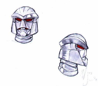 Rattrap face sketches by BeastWarsClub