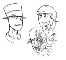 BH doodles (+animatic) by The-BlackEye
