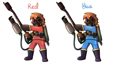 Undertale Fortress 2- Frisk by Gameaddict1234
