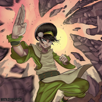 Toph - Avatar by Mirstin